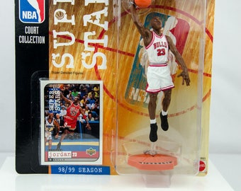 NBA Super Stars Court Collection Michael Jordan 98/99 Season Action Figure