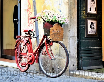 Street Photography,Bicycle Photography,Wall Art Decor,Wall Art,Office Decor,Art Photography,Office Gift ,Home Design,Canvas Wall Art