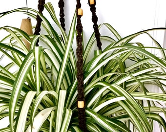 Macrame planter | Hanging planter | Vintage planter