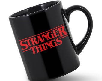 Stranger Things Strangerthings Sci Fi Netflix Stranger Things Gift Stranger Things Mug