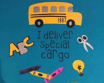 I deliver special cargo