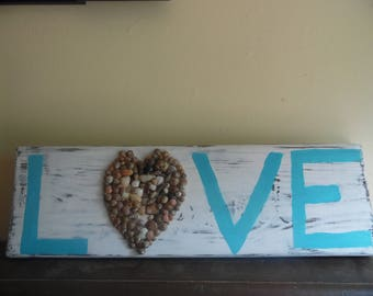 Shabby Chic Shell Art