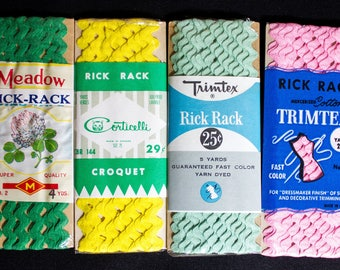 Vintage Rick Rack in Original Packaging