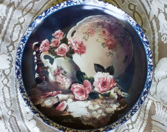 Touch of the Irish Heirloom Memories by Arleta Pech Bradford Exchange Porcelain Collector Plate 1994