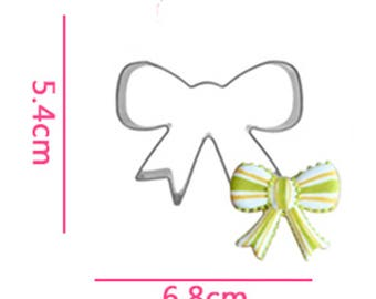 Bow Knot Cookie Cutter- Fondant Biscuit Mold - Pastry Baking Tool Set