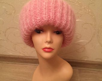 Hat to knit mohair