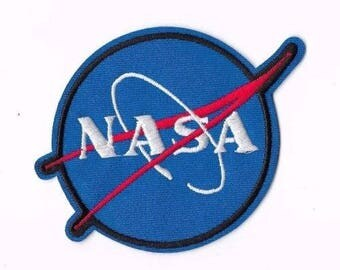 NASA Iron on / Sew on PATCH Embroidered Badge Astronaut PT184