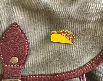 Taco   Lapel   Enamel pin
