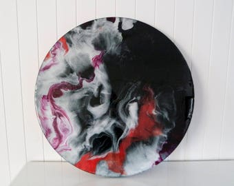 90 cm Resin Art work (juniper)