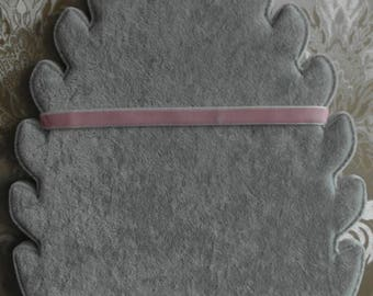 Choker light pink Fluwerlachtige necklace