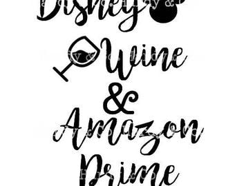 Disney Wine and Amazon Prime