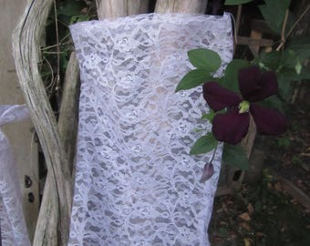 Lavender lace produce bags