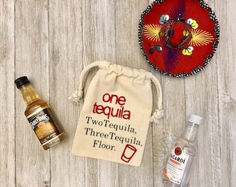 One Taquila-Muslin Bags-Favor Bags-
