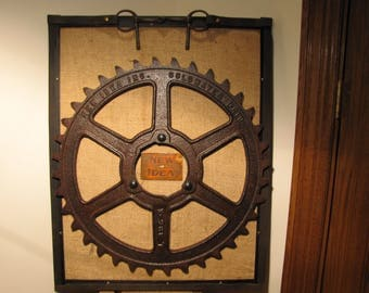 Antique Framed Gear