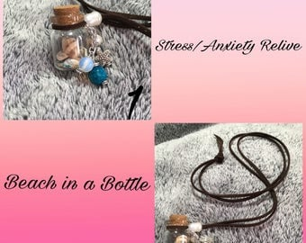 Necklace Beach in a Bottle Stress and anxiety relive