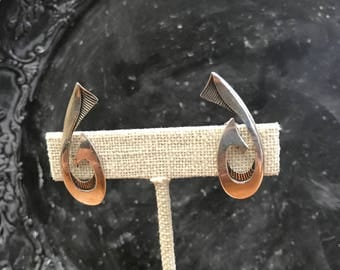 Vintage Victoria Taxco - Ana Nunez Brilanti Sterling Silver Earrings