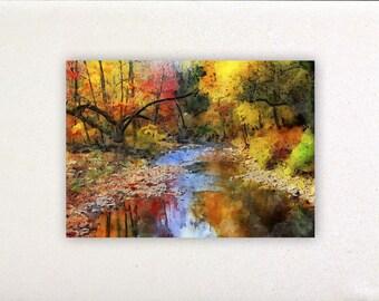 Autumn - Watercolor prints, watercolor posters, nursery decor, nursery wall art, wall decor, wall prints | Tropparoba - 100% made in Italy