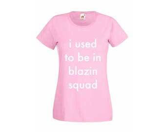 I used to be in blazing squad children's personalised children T'Shirts