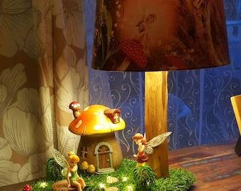 Handmade Fairies' lamp