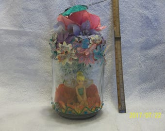 tinker bell in a jar