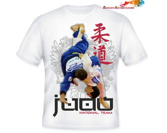 judo t shirt etsy. Black Bedroom Furniture Sets. Home Design Ideas