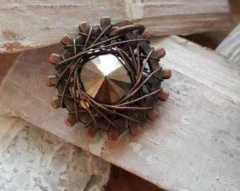 Wire weave hanger