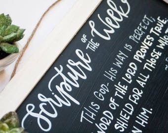 Rustic Custom Chalkboard Sign | Farmhouse Wood Frame | Chalkboard Sign | Home Decor | Custom Wood Sign | Custom Lettering | Pallet Sign