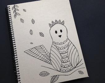 Cute Little Bird Notebook