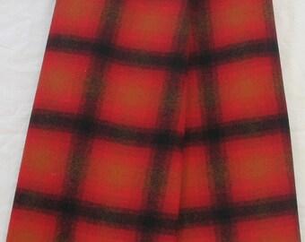 Dorr Mill Wool Plaid Fabric