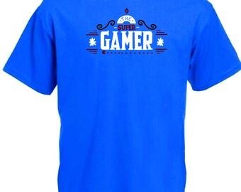 Super Gamer T-Shirt Xbox PS4