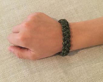 Emergency Zipper Bracelet
