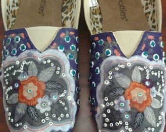 Floral Beauty Canvas Shoes