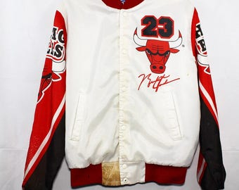 Vintage Michael Jordan Chicago Bulls OG Chalkline Jacket