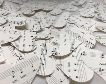 Music Notes Hearts Confetti