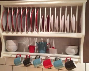 The abigail bespoke plate rack