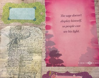 Scrapbooking Page unfinished