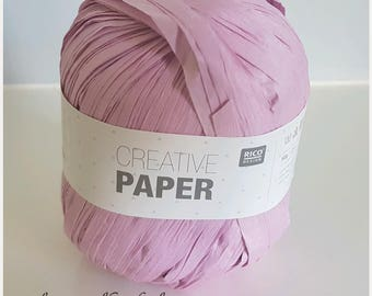 Lilac Paper 100% fiber paper Rico Creative thread