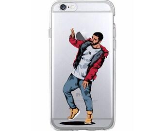 Drake Dancing Phone Case, Drake Toronto iPhone Case, Drake Phone Case, Drake Samsung Case, The Six iPhone Case / Fits iPhone and Samsung