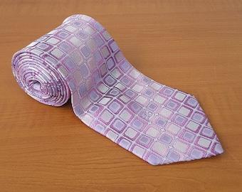 Vintage DAKS Mens Silk Necktie Casual Suit Neck Tie 089