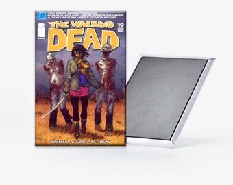 The Walking Dead Comic Michonne Refrigerator Magnet 2x3