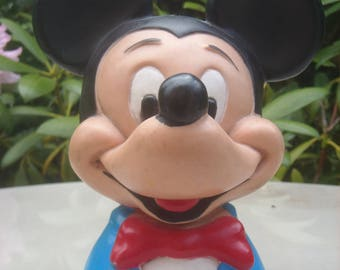 Vintage 1950s Mickey Mouse Money Box