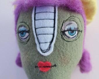 Claudine handmade doll