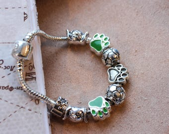 Сhildren's bracelet Pandora. Bracelet for boy.
