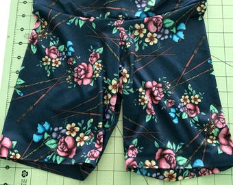 Floral wands shortie leggings