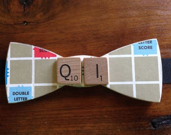 Scrabble Bow Tie
