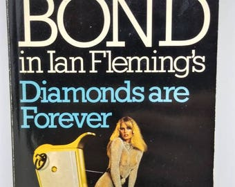 007 diamonds are forever James Bond novel