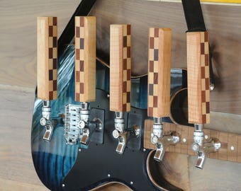 Tap Handle Made from guitars