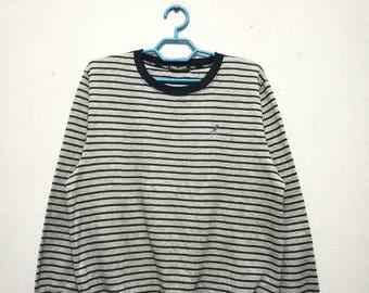 Vintage Kangol Stripe Striped Sweater Sweatshirt
