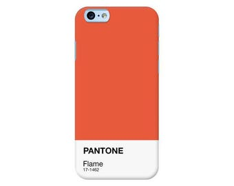 Pantone NY Spring Collection 2017 | Flame Custom Phone Case for iPhone, Google Pixel, Samsung Galaxy and more