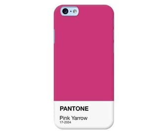 Pantone NY Spring Collection 2017 | Pink Yarrow Custom Phone Case for iPhone, Google Pixel, Samsung Galaxy and more